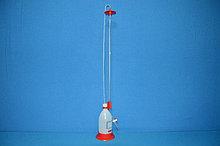 Бюретка Шиллинга автоматическая с полосой Шеллбаха, класс В, V-25мл, погр.- ±0,05мл, ц.д.-0,05мл, Vбутыля-1 л (VITLAB)