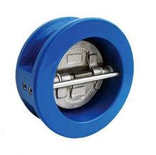 Клапаны обратные межфланцевые с двойным диском
