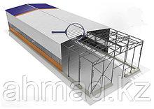 Каркасные ангары строим Алматы.