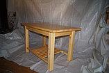 Стол с нижней полкой , фото 2