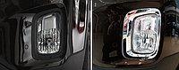 Хром на передние противотуманки KIA Sorento 2013+, фото 1
