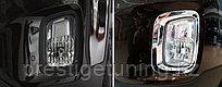 Хром на передние противотуманки KIA Sorento 2013+