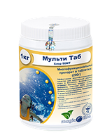 Химия для бассейна Мультитаб - 5кг (таб. 20гр)