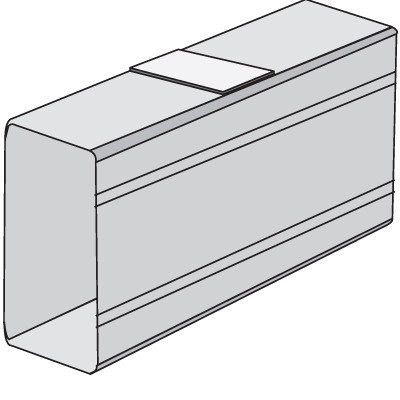 SGAN 40 Накладка на стык профиля
