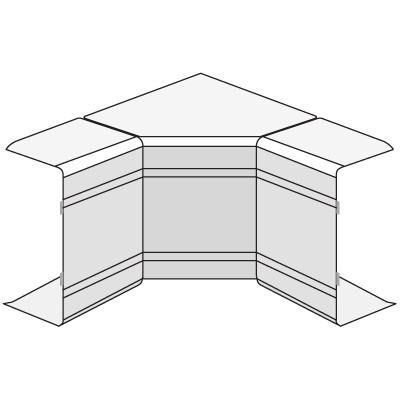 NIAV 120x40 Угол внутренний изменяемый  (70-120°)