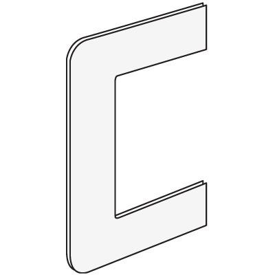 RQM 80 Рамка для ввода в стену/коробку/потолок