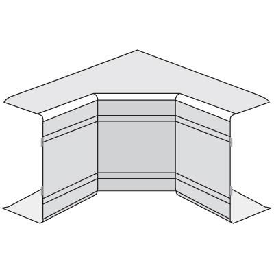 NIA 80x40 Угол внутренний неизменяемый (90°)