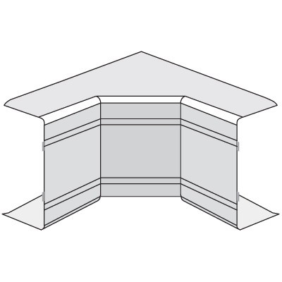 NIA 100x60 Угол внутренний неизменяемый (90°)