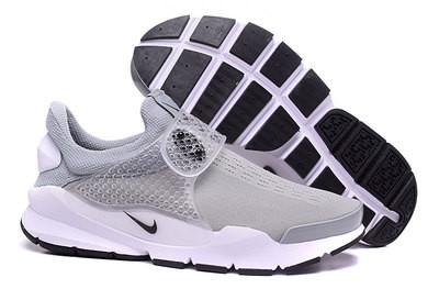 Летние кроссовки Nike Sock Dart серые ( 40-44 )