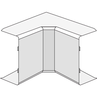 AIM 22x10 Угол внутренний белый (розница 4 шт в пакете, 20 пакетов в коробке)