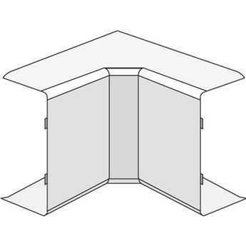 AIM 25x17 Угол внутренний белый (розница 4 шт в пакете, 10 пакетов в коробке)