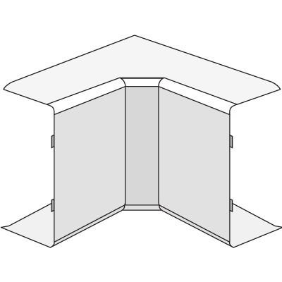AIM 15x17 Угол внутренний белый (розница 4 шт в пакете, 20 пакетов в коробке)
