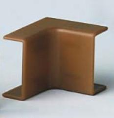 AEM 25x17 Угол внешний коричневый (розница 4 шт в пакете, 20 пакетов в коробке)