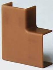 APM 25x17 Угол плоский коричневый (розница 4 шт в пакете, 15 пакетов в коробке)