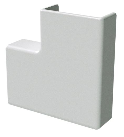 APM 40x17 Угол плоский белый (розница 4 шт в пакете, 14 пакетов в коробке)