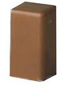 LM 25x17 Заглушка, коричневая
