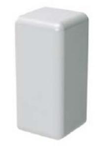 LM 22x10 Заглушка белая (розница 4 шт в пакете, 20 пакетов в коробке)