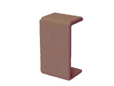 GM 40x17 Соединение на стык, цвет коричневый