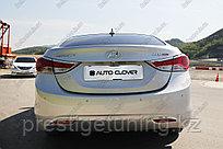 Хром накладка на задние отражатели бампера на Hyundai Elantra 2010-16