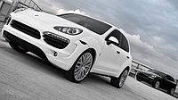 Обвес Kahn SUPERSPORT WIDE-TRACK на Porsche Cayenne 958, фото 1