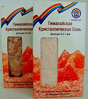 Пищевая гималайская соль (0,5-1 мм) в картонной упаковке, 400гр.