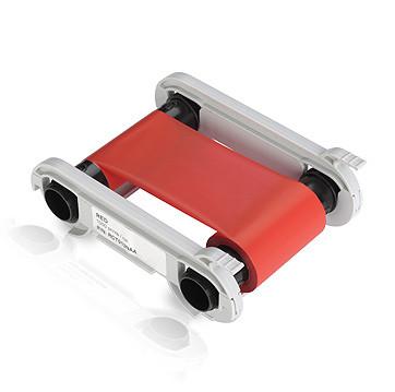 Монохромная красная лента Evolis RCT013NAA 1000 отп.