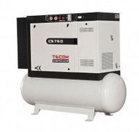 Компрессор электрический винтовой стационарный CS 140D (ресивер 500л) TECOM (Турция)