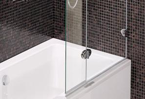 Ограждение для ванны, душевые двери для ванных комнат