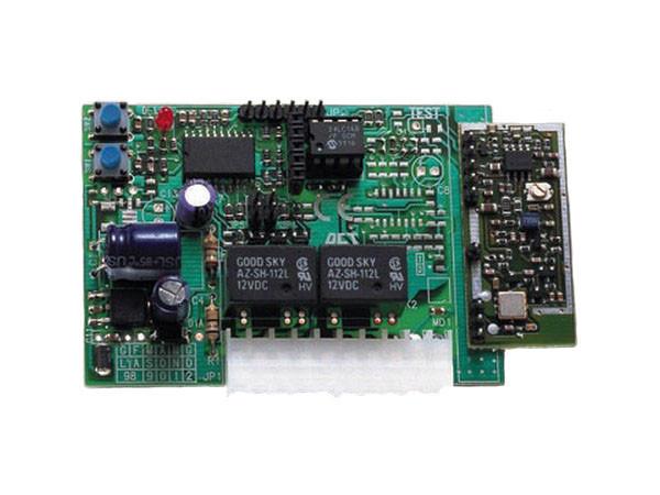 CLONIX 2/2048. Встраиваемый радиоприемник, двухканальный. 433МГц, до 2048 пультов.