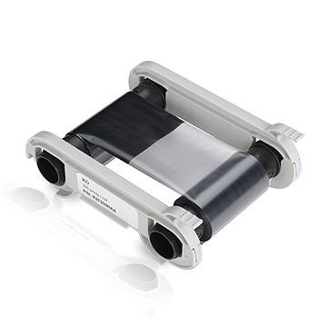 Полимерная стандартная черная лента для принтеров Evolis серии Zenius, с прозрачным защитным слоем 300 отп.