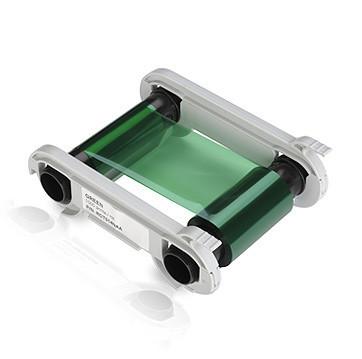 Монохромная зеленая лента Evolis RCT014NAA 1000 отп.
