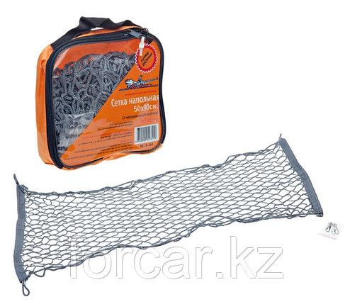 Сетка напольная 50х90 см (4 металлических крючка), фото 2