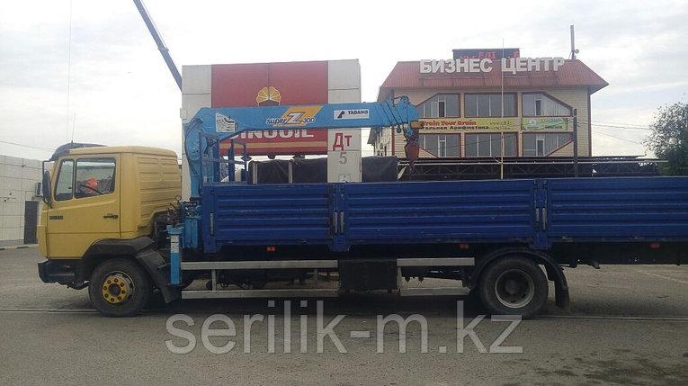 Услуги Манипулятора грузоподъемность 3 тонн, кузов ширина 2,45 длина 7м, машина 10 тонн., фото 2