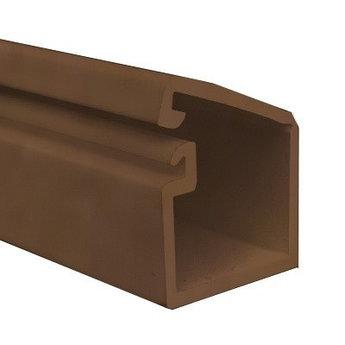 TMR 10х10 Миниканал самоклеющийся, коричневый