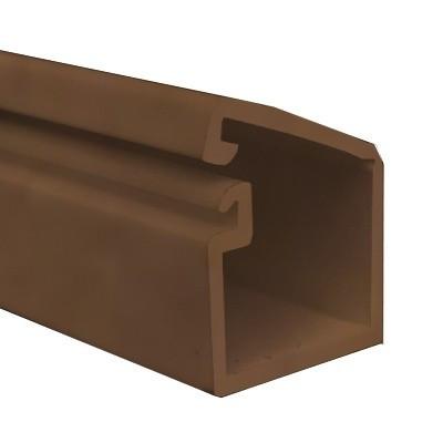 ТМС 25Х17 Миниканал коричневый