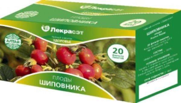 Шиповник, плоды, 20 фильтр пакетов