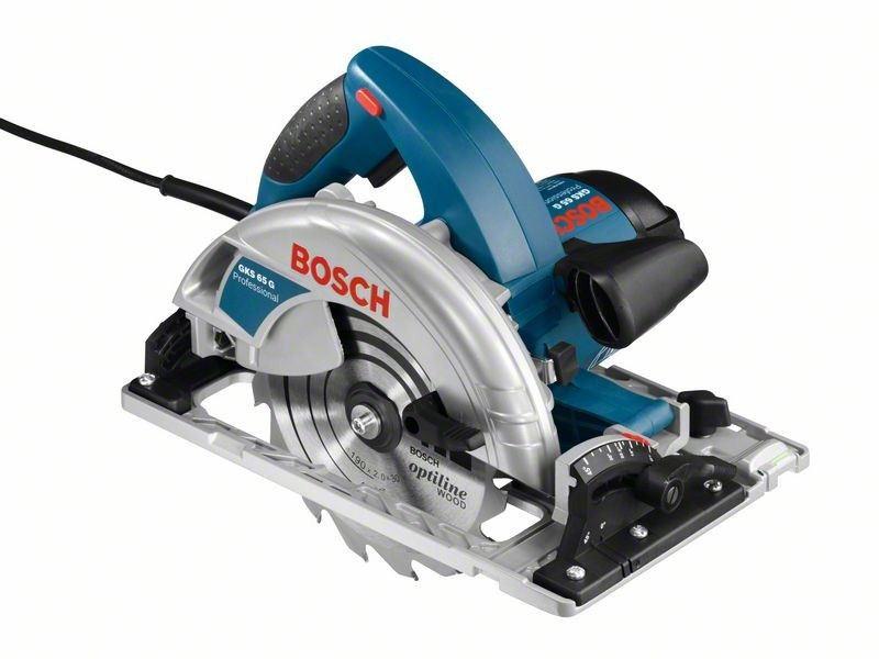 Дисковая пила (циркулярка, пчелка) Bosch GKS 65 G 0601668903