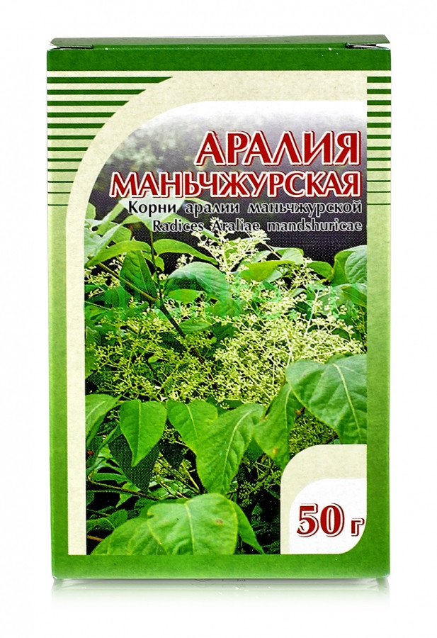 Аралия,корень аралии маньчжурской 50гр