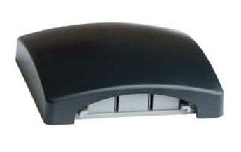 Тройник для напольного канала 75х17 мм DSP A, цвет чёрный