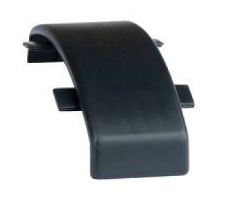 Соединение для напольного канала 75х17 мм GSP A, цвет чёрный