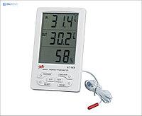 KT905 Термометр с функцией измерения влажности воздуха с внешним датчиком