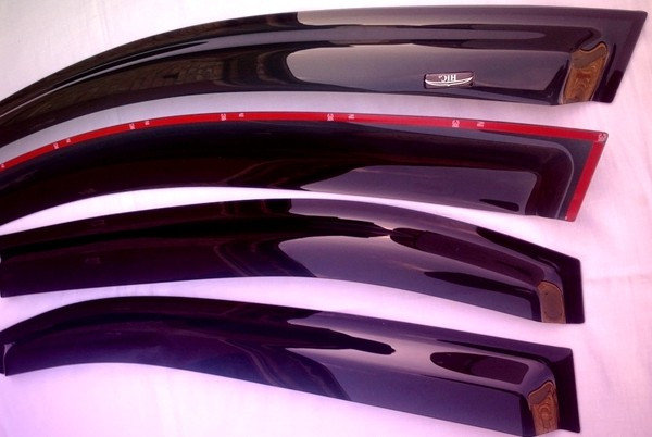 Дефлекторы окон Acura TSX / Accord (Euro) chrome с 2008 по 2012, фото 2