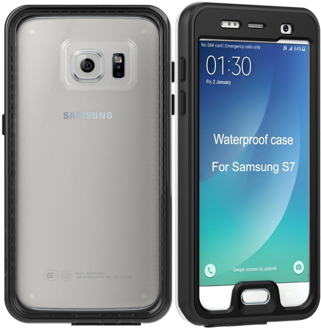 Водонепроницаемый чехол для Samsung Galaxy S7 G930 (черный)