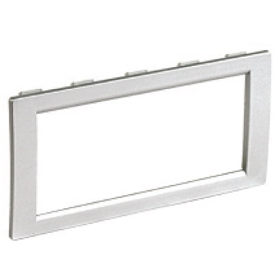 Рамка универсальная на 4 модуля, цвет белый