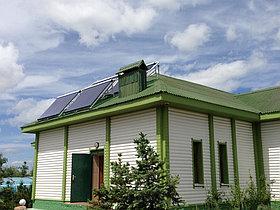 4 солнечных коллектора по 30 вакуумных трубок