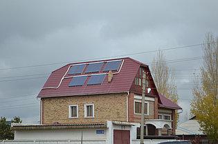 5 солнечных коллекторов