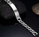 """Браслет мужской стальной """"Stainless steel"""", фото 6"""