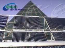 Дом Правительства РК, установка солнечных водонагревателей 11