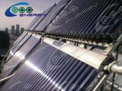 Дом Правительства РК, установка солнечных водонагревателей 13
