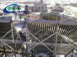 Дом Правительства РК, установка солнечных водонагревателей 16